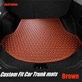 ZHAOYANHUA автомобильные коврики для багажника Volkswagen Beetle Eos Golf Jetta ПАССАТ шаран кожа Противоскользящий автомобильный Стайлинг ковер лайнер