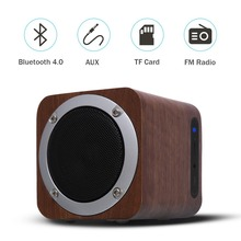 Lefon Retro Wooden Bluetooth Speaker Wireless Subwoofer Stereo Sound Box with FM Radio AUX TF Card MP3 Music Player Wood bluedio 2 1 stereo wireless bluetooth speaker subwoofer portable mp3 player audio support fm radio tf card play music aux in
