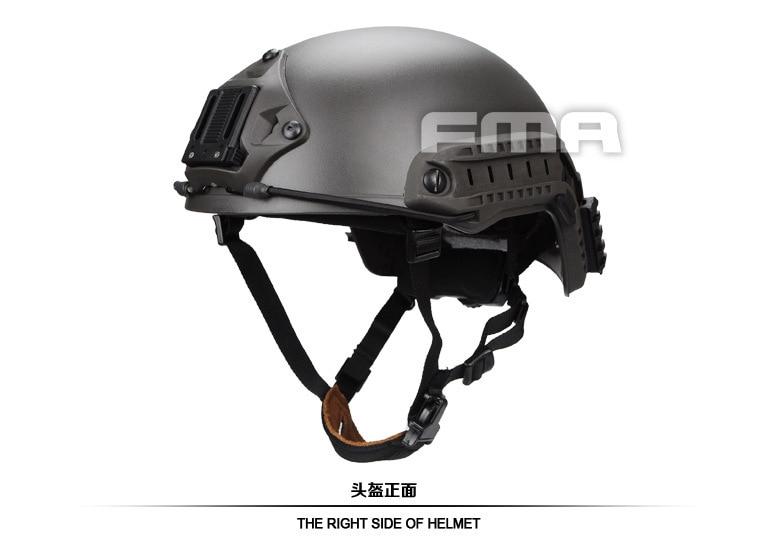 FMA Helmet Suspension System Rapid Response Helmet MG Color TB1052-MG tb fma an peq 15 upgrade version led white light