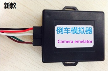 Parking Reverse Image Emulator / Rear View Camera Activator for BMW E90 E60 E9X E6X image
