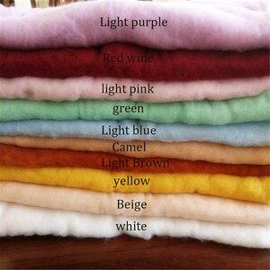 Image 5 - Мягкое Флисовое одеяло для новорожденных, 20 цветов, 60 х60 см