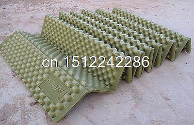 Top Quality Outdoor Camping Folding Mats Comfortable Waterproof Sleeping Cushion надувной матрас camping mats 127х193х24см intex