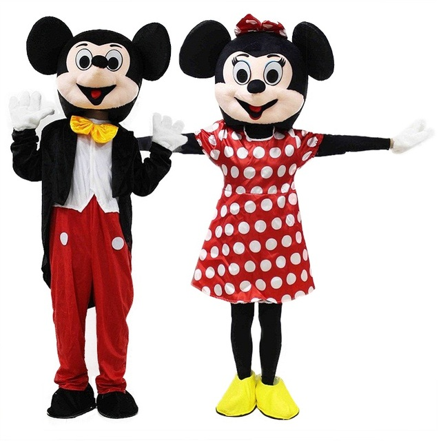 2019 Cute Mickey Mascot Costume Red    Mascot Costumes EPE Material Cartoon Imitation Clothing Cosplay