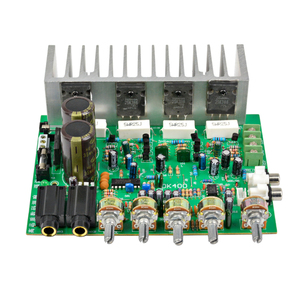 Image 2 - AIYIMA Audio Amplifier Board HIFI Digital Reverb Power Amplifier 250W+250W Audio Preamp Rear Amplification With Tone Control