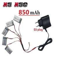 650mAh 3 7V LiPo Battery AC Charger Euro Plug For SYMA X5C 1 X5C 1 X5