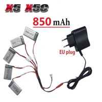 650mAh 3 7V LiPo Battery AC Charger Euro Plug For SYMA X5C 1 X5C 1 X5