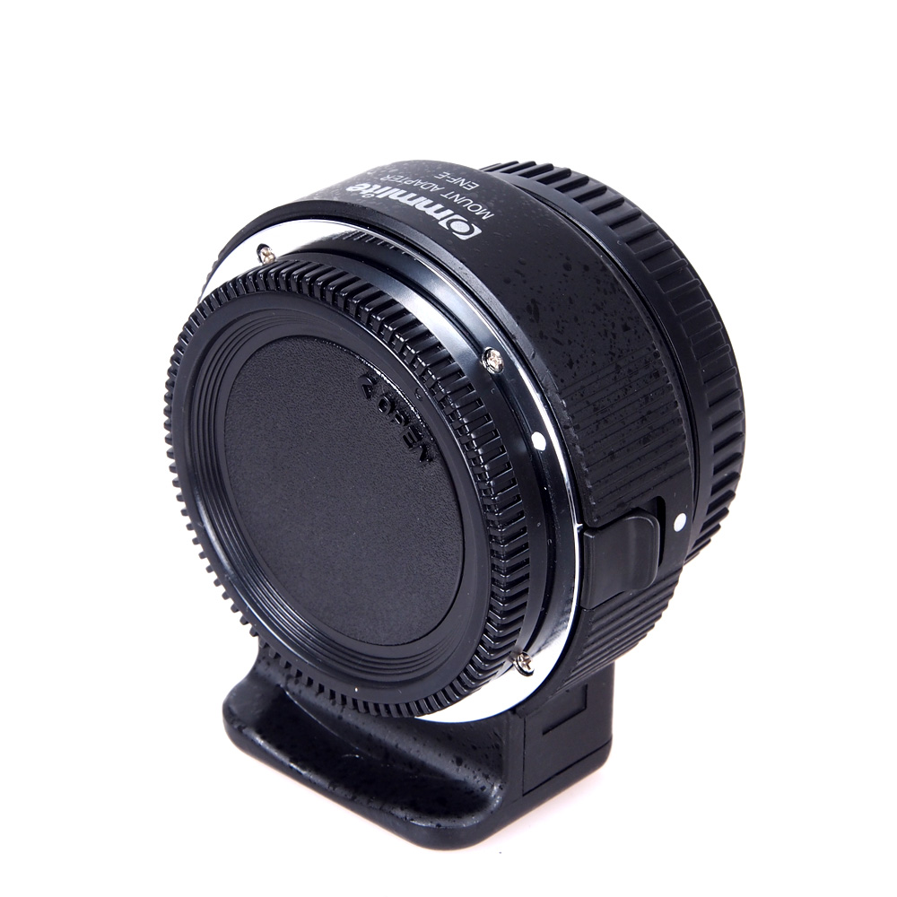Electronic Lens Adapter for Nikon F Lens to Sony E-Mount Camera Support AF EXIF Transmit Aperture Control for SONY A7MII A7RII