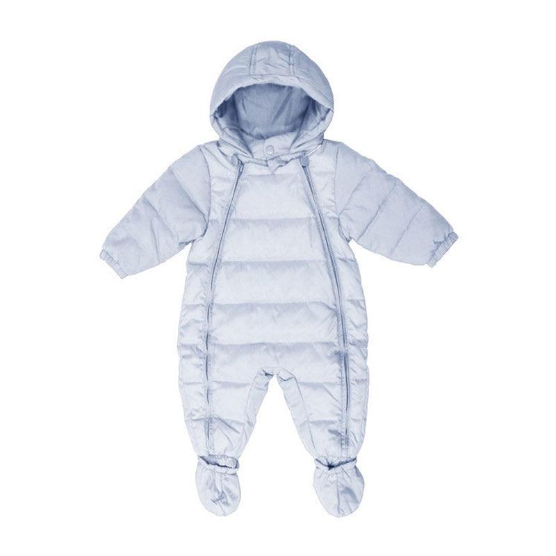 VertrauenswüRdig Schneeanzug Für Neugeborene Jungen Mädchen Warme Winter Daunenjacke Oberbekleidung Sport Säuglingsbabykleidung Mit Kapuze Jacken 90% Ente Feder Durch Wissenschaftlichen Prozess