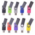 10Pcs INCIPIENT Real Capacity USB Flash Drive 128GB Custom Pen Drive Pendrive Swivel Style 8GB 16GB 32GB 64GB 2.0 Memory Stick