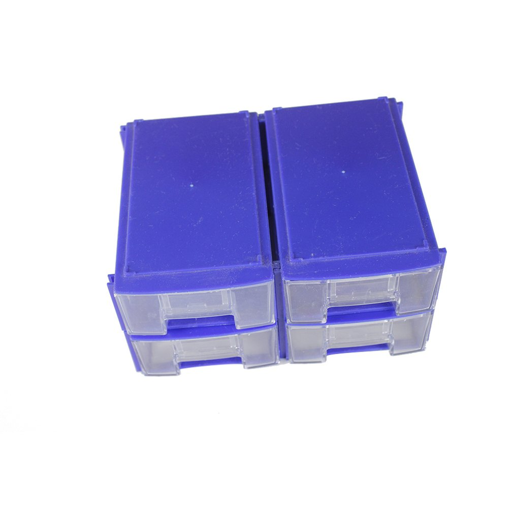 Plastic Tool Box Transparent Toolbox Electronic Components Screw Storage Box Electronic Plastic Parts Tool Boxes Drop Shipping