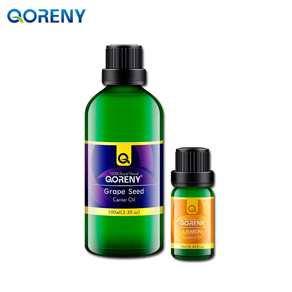 ФОТО Lemon essential oil 10ml + grape seed oil 100ML