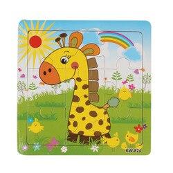 Высококачественные деревянные пазлы для детей, обучающие и Обучающие пазлы, классические Пазлы для детей, детские игрушки
