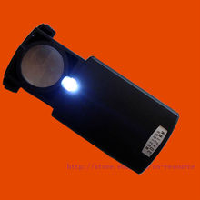 Здесь можно купить  Pull-type Jewelry Magnifier with LED Light Source 30X