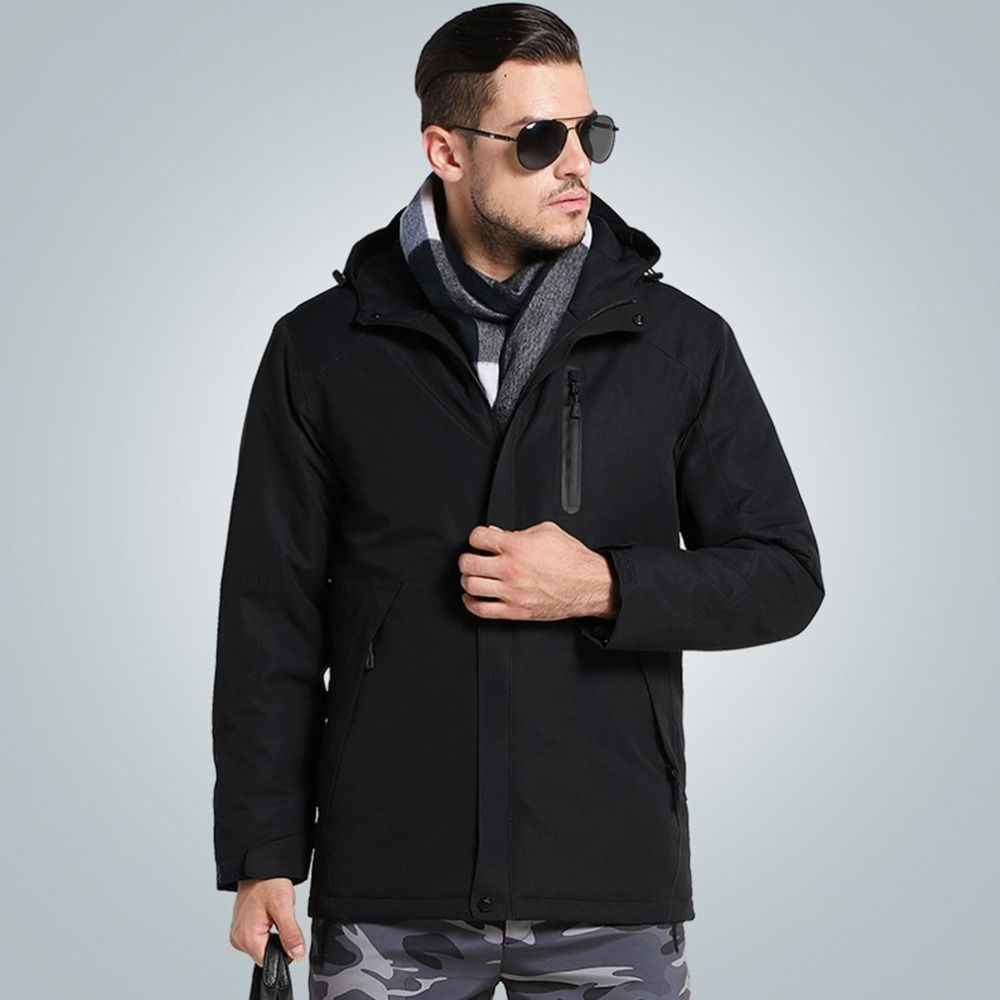 Electric Heating Jackets USB Security Intelligent Thermostat Electric Jackets Constant Temperature Winter Warm Coat For MenElectric Heating Jackets USB Security Intelligent Thermostat Electric Jackets Constant Temperature Winter Warm Coat For Men