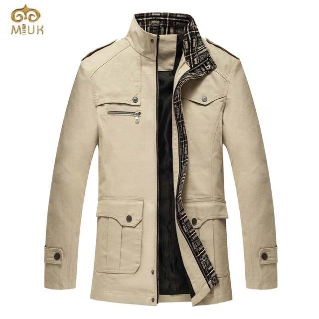 Mode Longue De Tranchée 2017 Miuk Hommes Veste Manteau Section OTkPXZiu