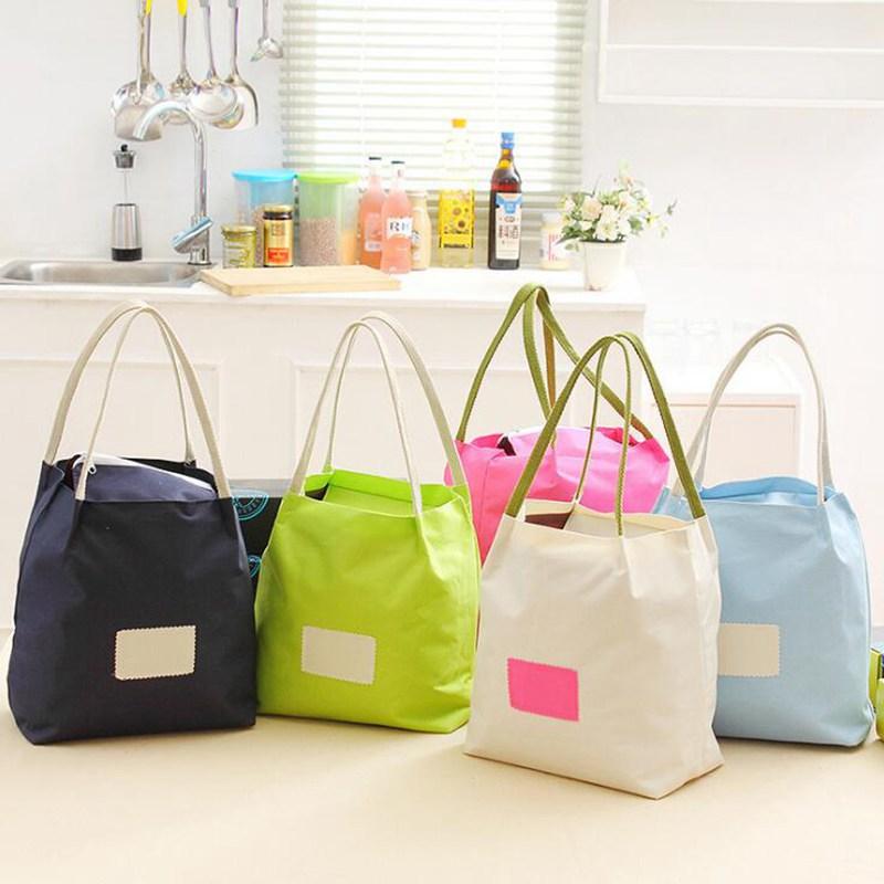 Insulated Lunch Bag Tote Thermal Bags Waterproof Beach Bags For Food Picnic Bolsa Termica Women Kid Men Cooler Handbags