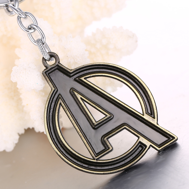 Movie The Avengers Logo Keychain (2 Colors) 2
