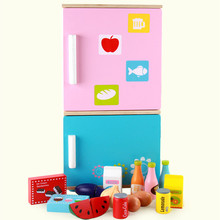 New Wooden Baby Toys  Refrigerator Sets