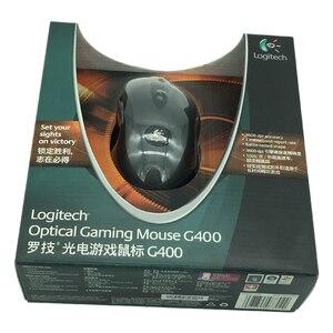 Image 3 - 100% original Logitech G400 Optische Gaming maus verdrahtete berufs player marke gmaing maus mit einzelhandel paket