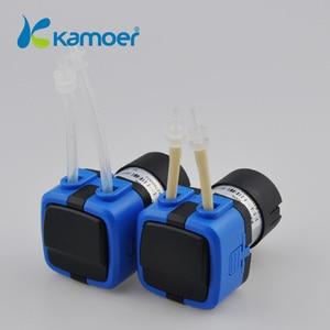 Image 4 - Kamoer KXF 6 V/12 V/24 V מיני Peristaltic משאבת מים עם DC מנוע קטן גודל תמיכה עצמית תחול