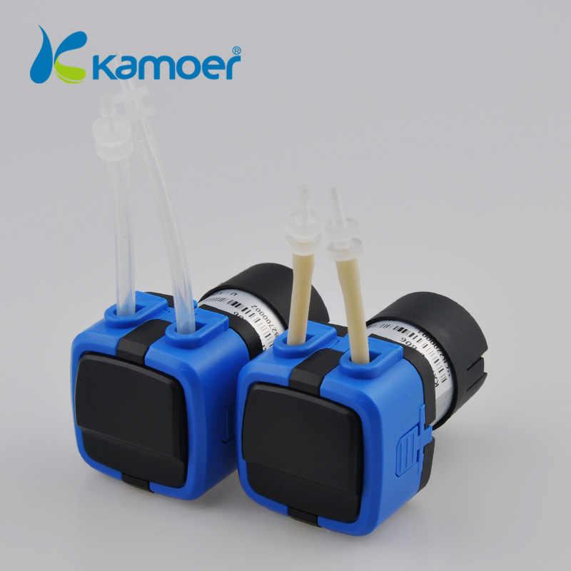 Kamoer KXF 6 V/12 V/24 V мини перистальтический водяной насос с двигателем постоянного тока и небольшой размер поддержка самовсасывания