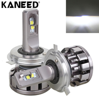 KANEED LED H4 Headlight Bulbs 2 PCS V1 30W 2200 LM 6000K IP67 Waterproof Car H4
