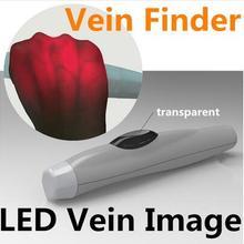 Детский перезаряжаемый светодиодный прибор для просмотра Вены для трансиллюминатора; детский прибор для определения вены