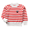 QUIKGROW Cute Little Heart Unisex Infant Baby Sweaters Spring Autumn Winter Stripes Long Sleeve Girl Boy Knitted Clothes YM20MY