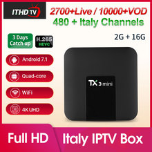 IPTV Italy Africa Spain TX3 mini Turkey Belgium IP TV Portugal Subscription Box Italian Arabic Germany