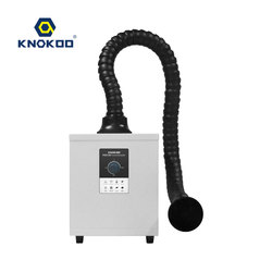 KNOKOO 150 Вт мини-вытяжка FES150 лазерный одноканальный сварочный паяльный поглотитель дыма вытяжной экстрактор