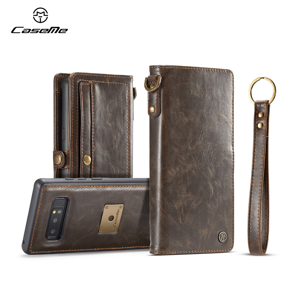 CaseMe Luxury Wallet Case Leather Flip Case for Samsung font b Galaxy b font Note 8