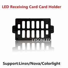 100pcs/lot LED Control Card Supporting Card Holder,Insulation Anti-static Control Card Bracket LED Full Color Card Holder