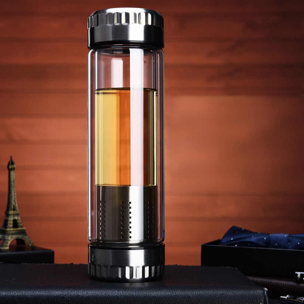 Double Wall Stainless Steel Vacuum Flasks 300ml/400ml Thermos Cup Coffee Tea Milk Travel Mug Thermo Bottle Gifts Thermocup RT99