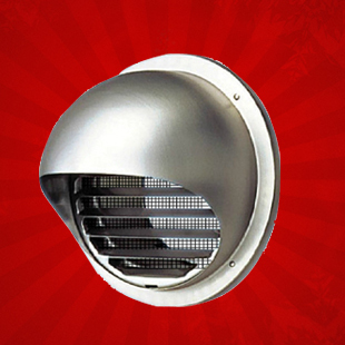 Free Shipping Diameter Ducted 100mm Tuyere Ventilation Fan Exhaust Exhaustfan Stainless Steel Outlet 15