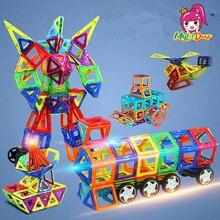 MylitDear 106PCS Anime Magnetic Building Blocks Toys Mini 3D DIY Robot Learning Educational Toy Bricks Magnetic Kids Toys