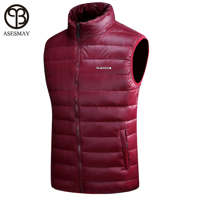2016 brand-clothing vests of men warm down vest  high quality  chalecos hombre sin mangas 6color big size vest with many pockets