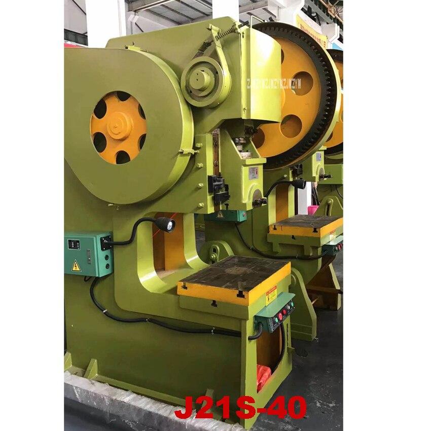 J21S-40 Vertikale Stanzen Drücken Hochwertige Stanzmaschine Tiefe Kehle Punch Metall Presse Maschine 220 V/380 V 3KW 55 zeit/min
