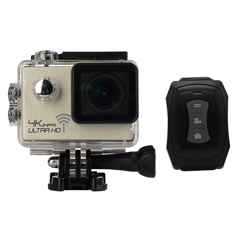 4K/30fps Action Camera Wifi 1080p UHD 2.0