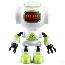 JJR/C R9 RC Robot LUBY Intelligent Robot Touchable Control DIY Gesture Talk Smart Mini RC Robots for Children Kids Toys