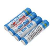 10 juegos/lote Trustfire AAA 900mAh 1,2 V batería recargable NI-MH con soporte de caja para juguetes Cámara linternas Led, 4 unids/set
