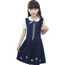 Childrens clothing 2019 new childrens long-sleeved fall models in summer autumn and winter plus velvet padded girls dresses