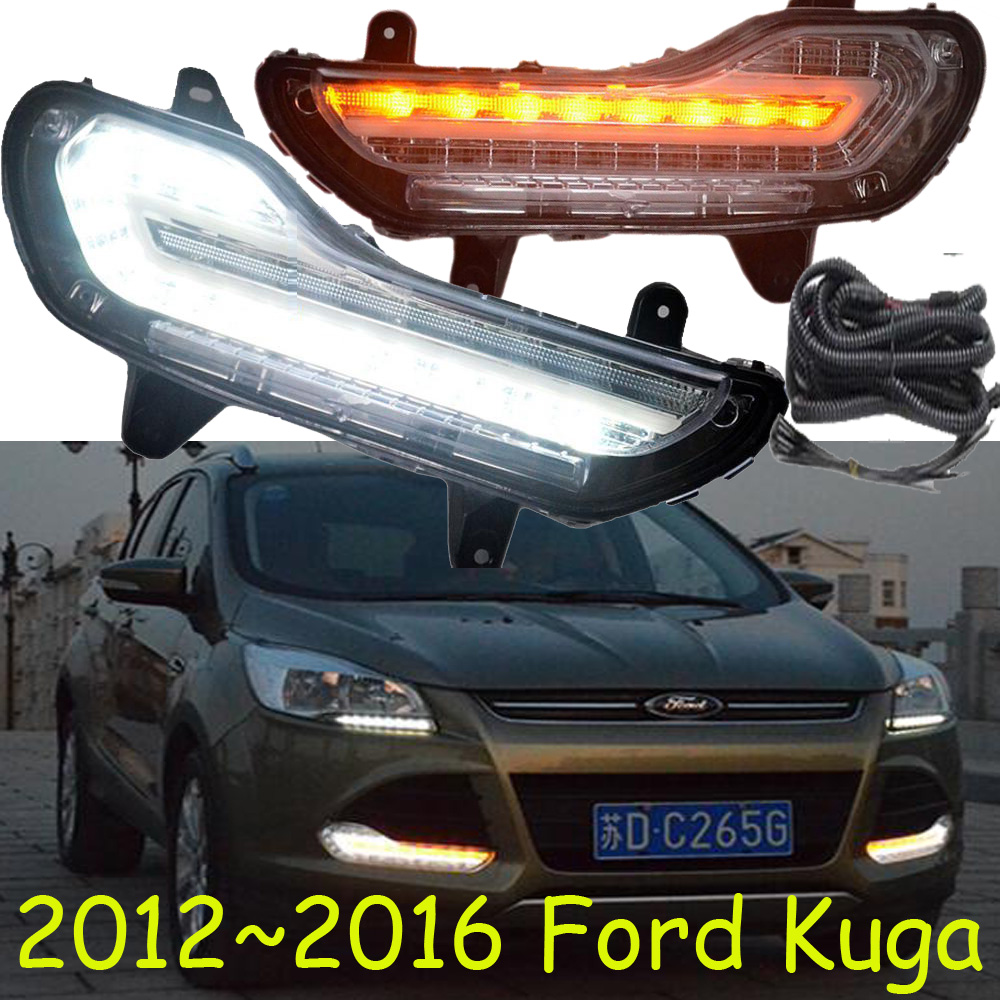 Kuga day light;Escape,2012~2018!LED,Kuga fog lamp,Econovan,Excursion,probe,raider,sable,taurus,tempo,Transit,Windstar,Topaz led 2012 2015 kuga day light kuga fog light kuga headlight transit explorer topaz edge taurus fusion kuga taillight