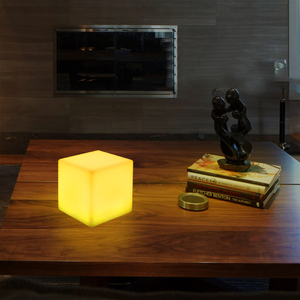 Image 5 - Thrisdar Dimmable 16 Color LED Cube Bedside Night Light Battery Powered Ambiance Cube Night light Kids Bedrooms Mood Table Lamps