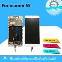 M Sen LCD Screen Display Touch Digitizer With Frame For Xiaomi 5s Mi5s M5s White Black