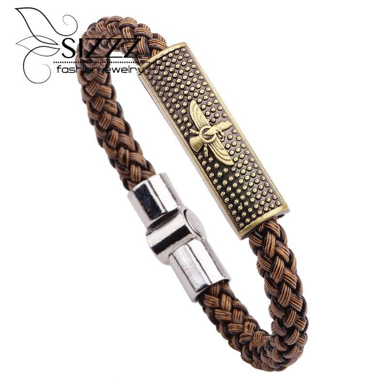 f931a4c131e7d معرض eagle bracelet leather بسعر الجملة - اشتري قطع eagle bracelet leather  بسعر رخيص على Aliexpress.com