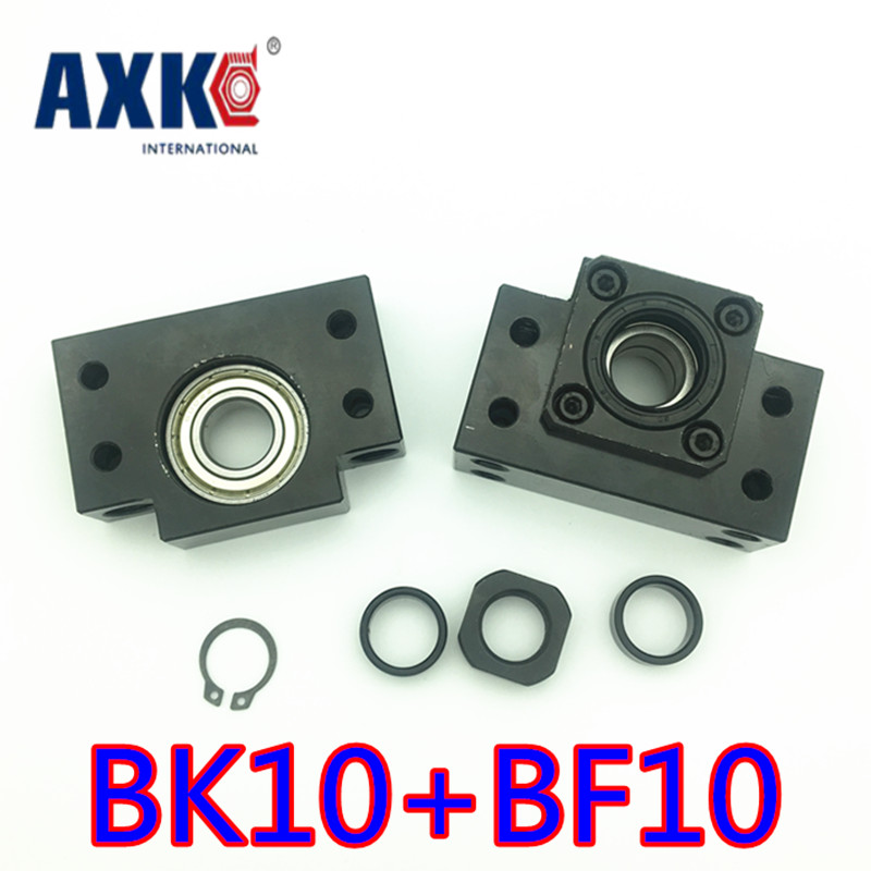 Free Shipping Bk10 Bf10 Set : One Pc Of Bk10 And One Pc Bf10 For Ball Screw Sfu1204 (rm1204 Ballscrew) Support Cnc Parts high quality 2set bk10 bf10 set 2pc of bk10 and 2pc bf10 for sfu1204 ball screw end support cnc parts bk bf10 free shipping