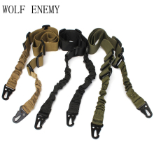 2 Point Airsoft Hunting Belt Tactical Military Elastic Black Army Green Gear Gun Sling Strap Outdoor Camping Survival Sling