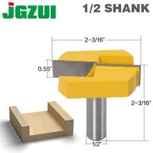 Bocados inferiores do roteador da limpeza com 1/2 da pata, diâmetro de corte 2 3/16 para o bocado de aplainamento de superfície do roteador