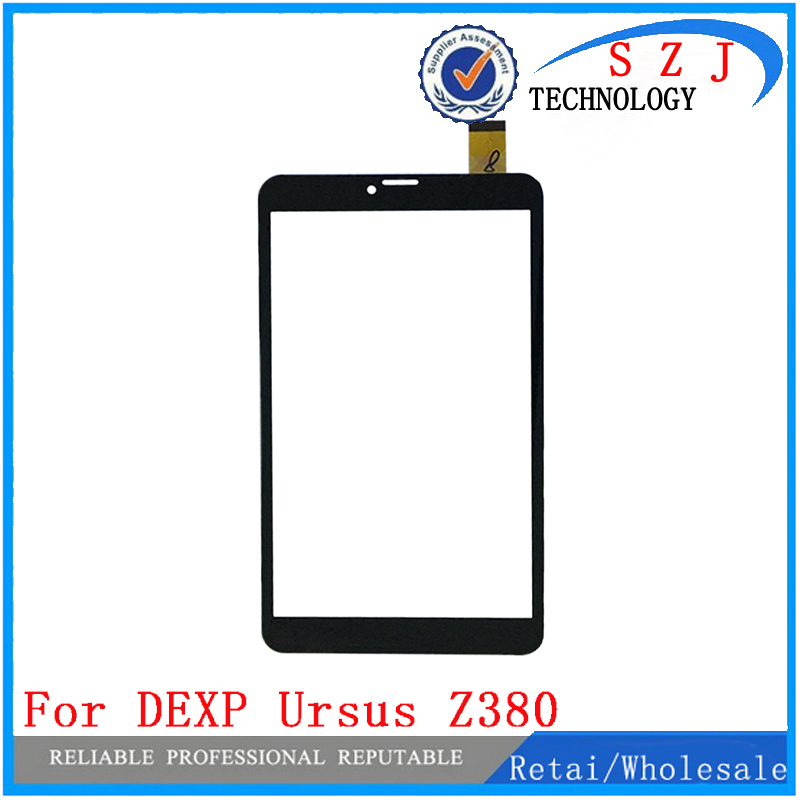 New 8'' inch case For DEXP Ursus Z380 3G Tablet Capacitive touch screen Panel digitizer glass Sensor replacement Free Ship 10pcs black new 7 inch tablet capacitive touch screen replacement for 80701 0c5705a digitizer external screen sensor free shipping