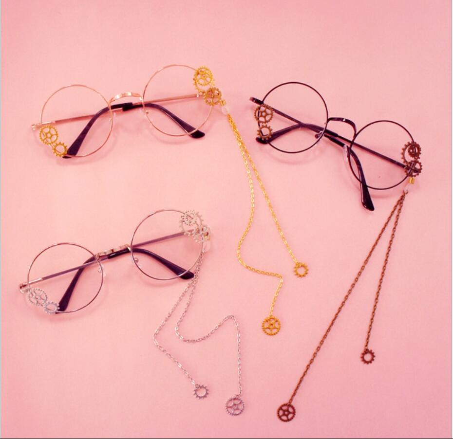 Bat Lolita Cosplay Glasses JK Punk Flower Rose Stage Collection Woman Fans Gift Drop Ship